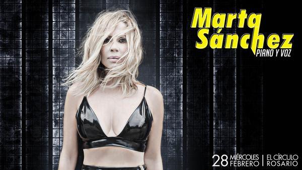 MARTA SÁNCHEZ por primera vez en Rosario