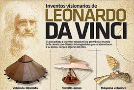 Inventos de da Vinci en el Complejo Astronómico