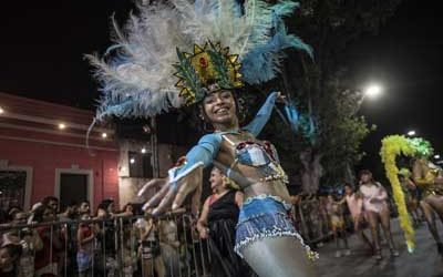 Rosario_: Comienza el Carnaval en el Scalabrini Ortiz