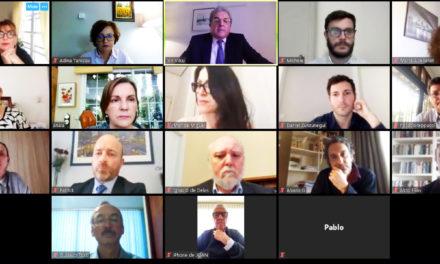 Reunión regional con el desafío de hacer frente al Covid19