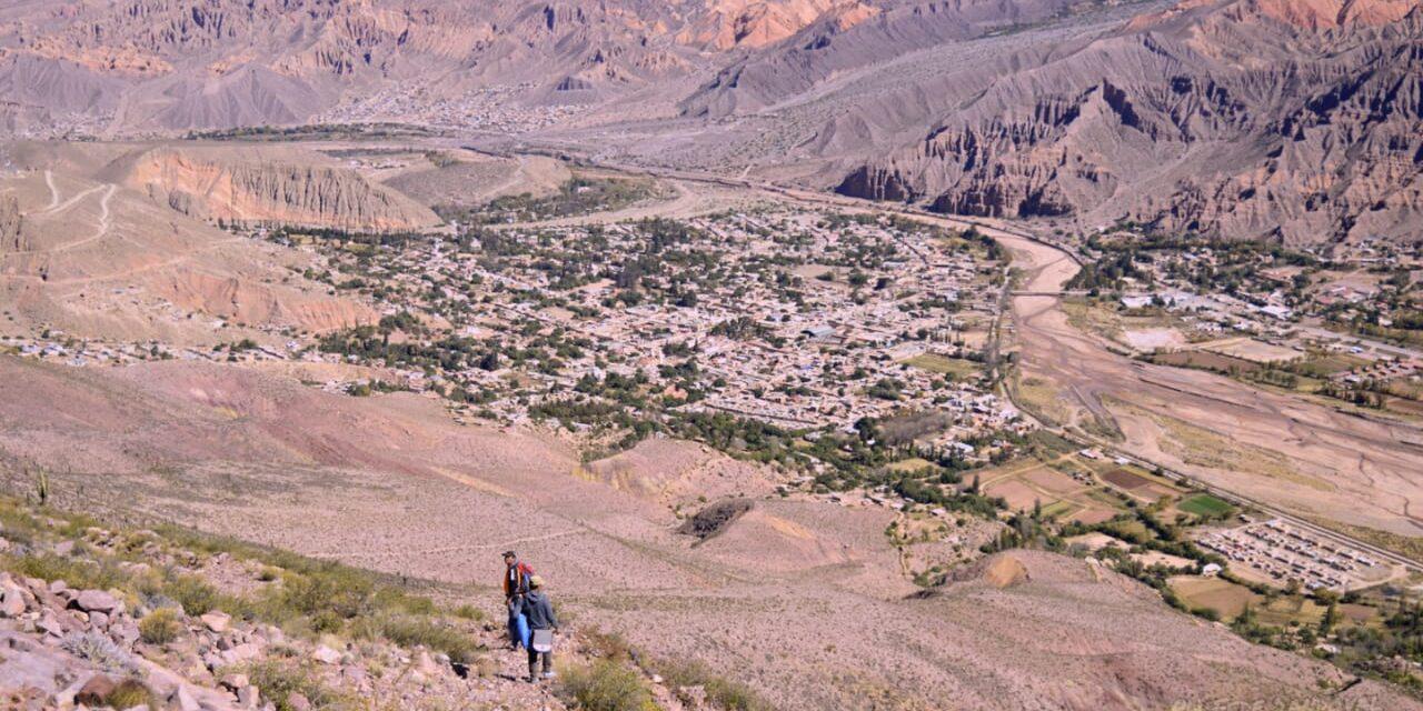 La cima del Cerro Negro: un destino turístico próximo a habilitarse en Tilcara
