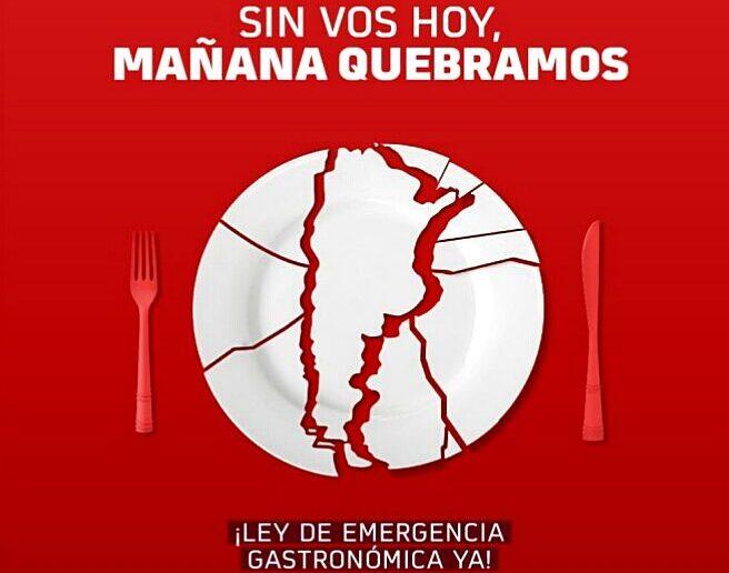 La hotelería y la gastronomía en crisis: Reclaman ayuda estatal y una ley de emergencia