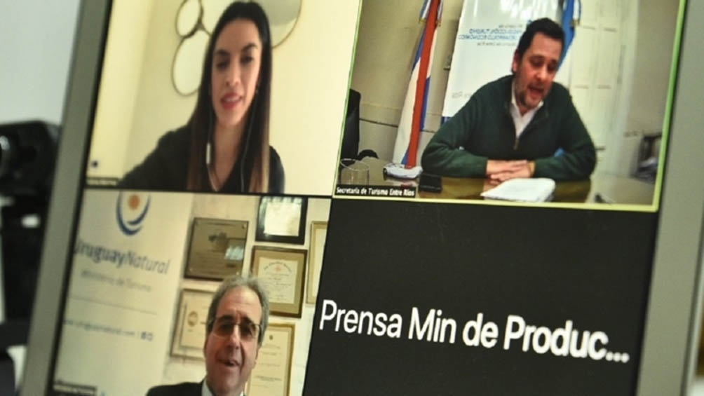 Reunión virtual entre Argentina y Uruguay para potenciar el turismo binacional
